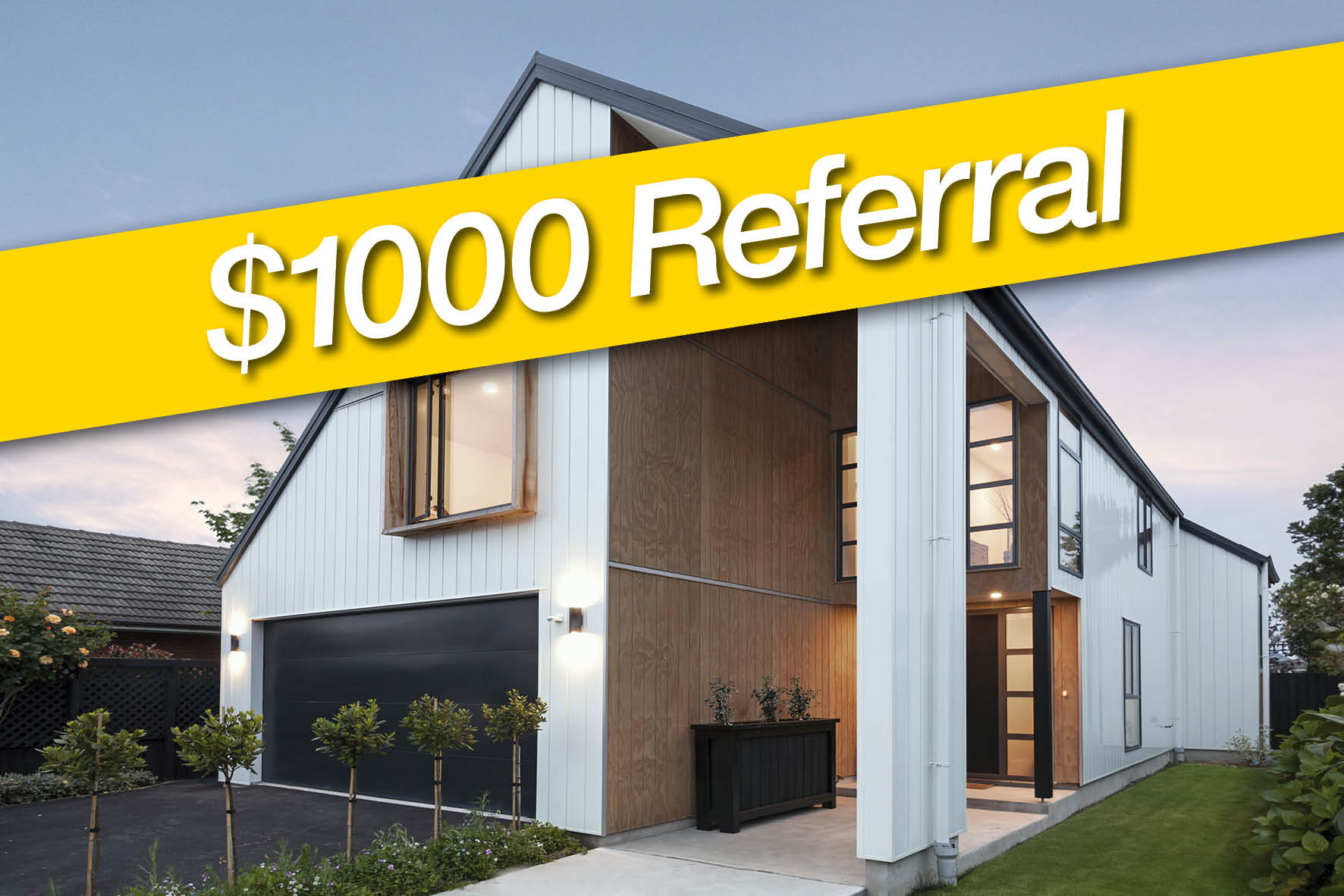 NEW! $1000 Referral Programme