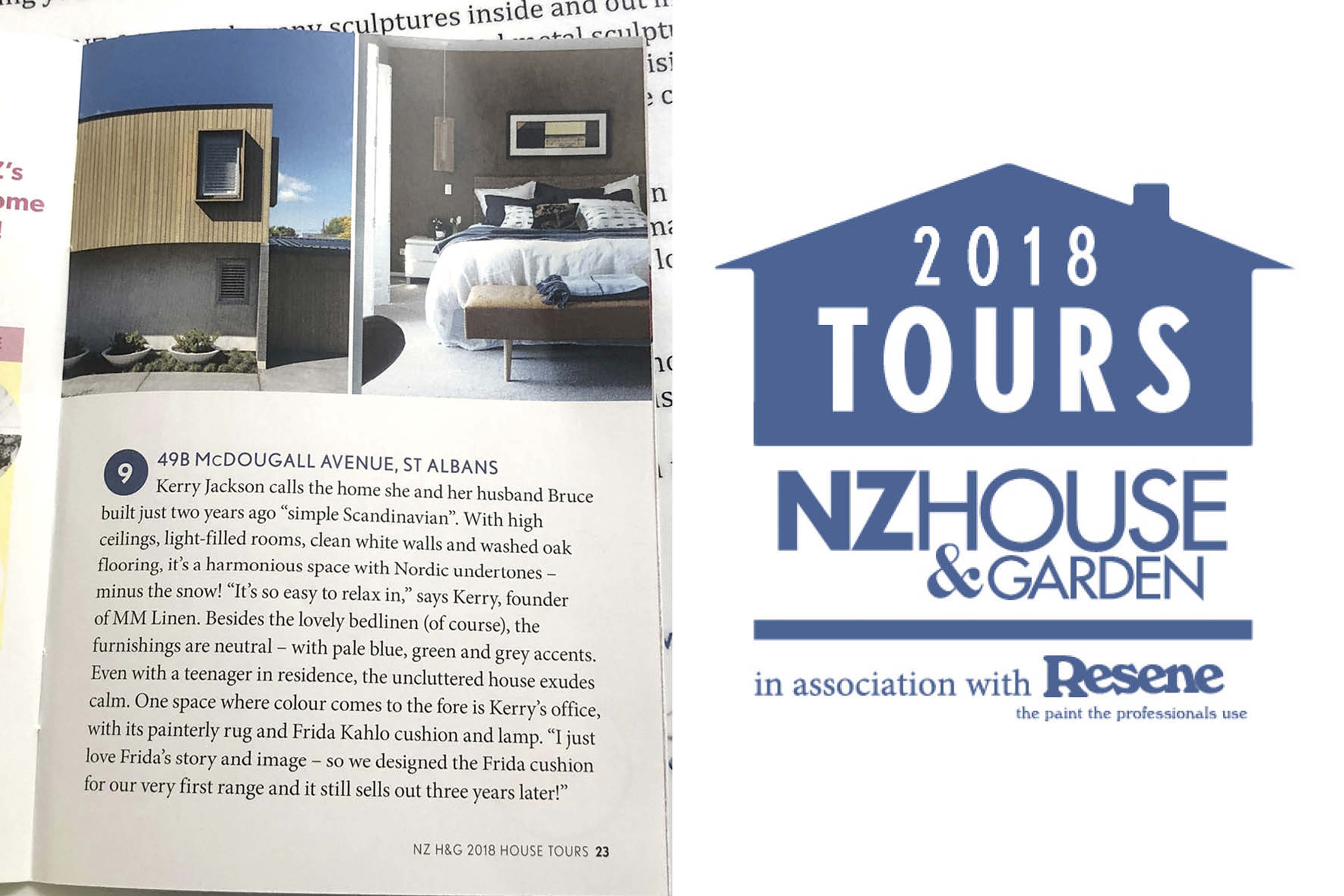 NZ House & Garden Home Tour 2018