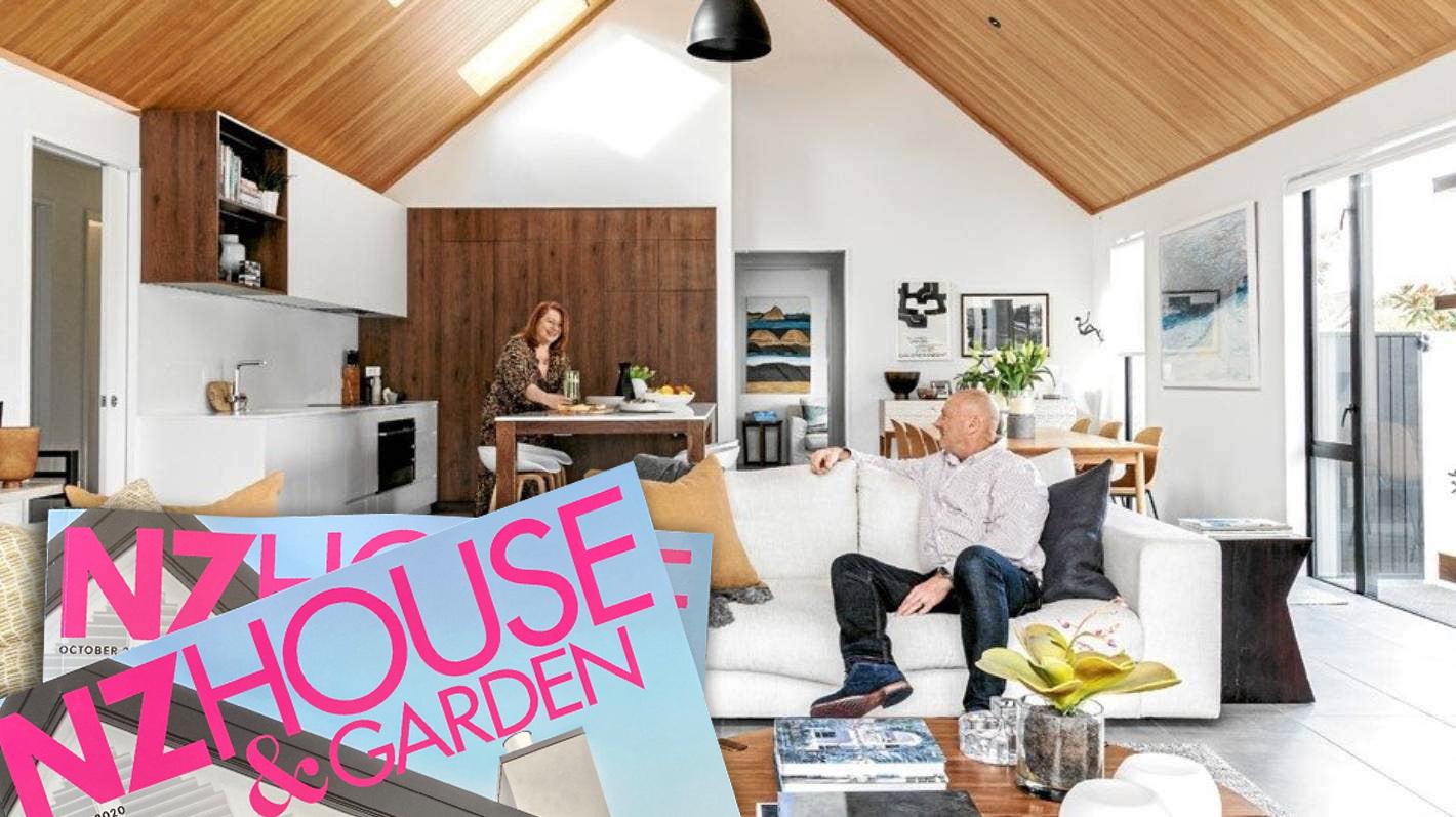 Front cover ofNZ House & Garden magazine!